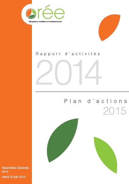 Orée - Rapport d'activités 2014