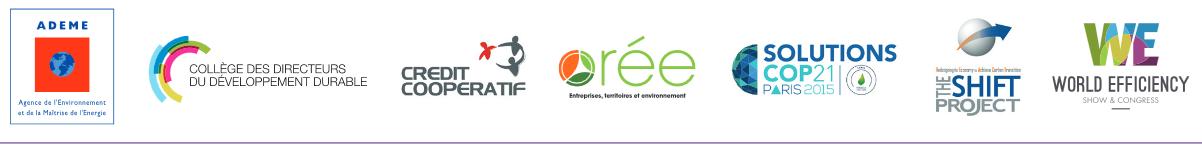 Partenaires des Trophées Solutions Climat