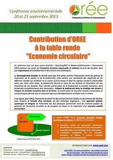 Contribution OREE (EC) 2013