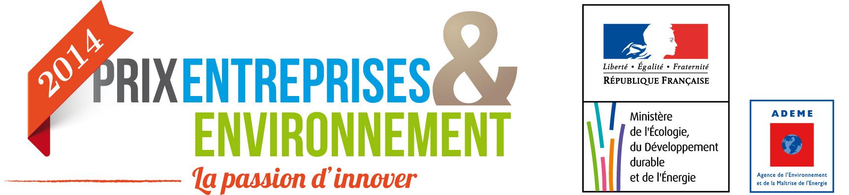 Logo Prix Entreprises et Environnement 2014