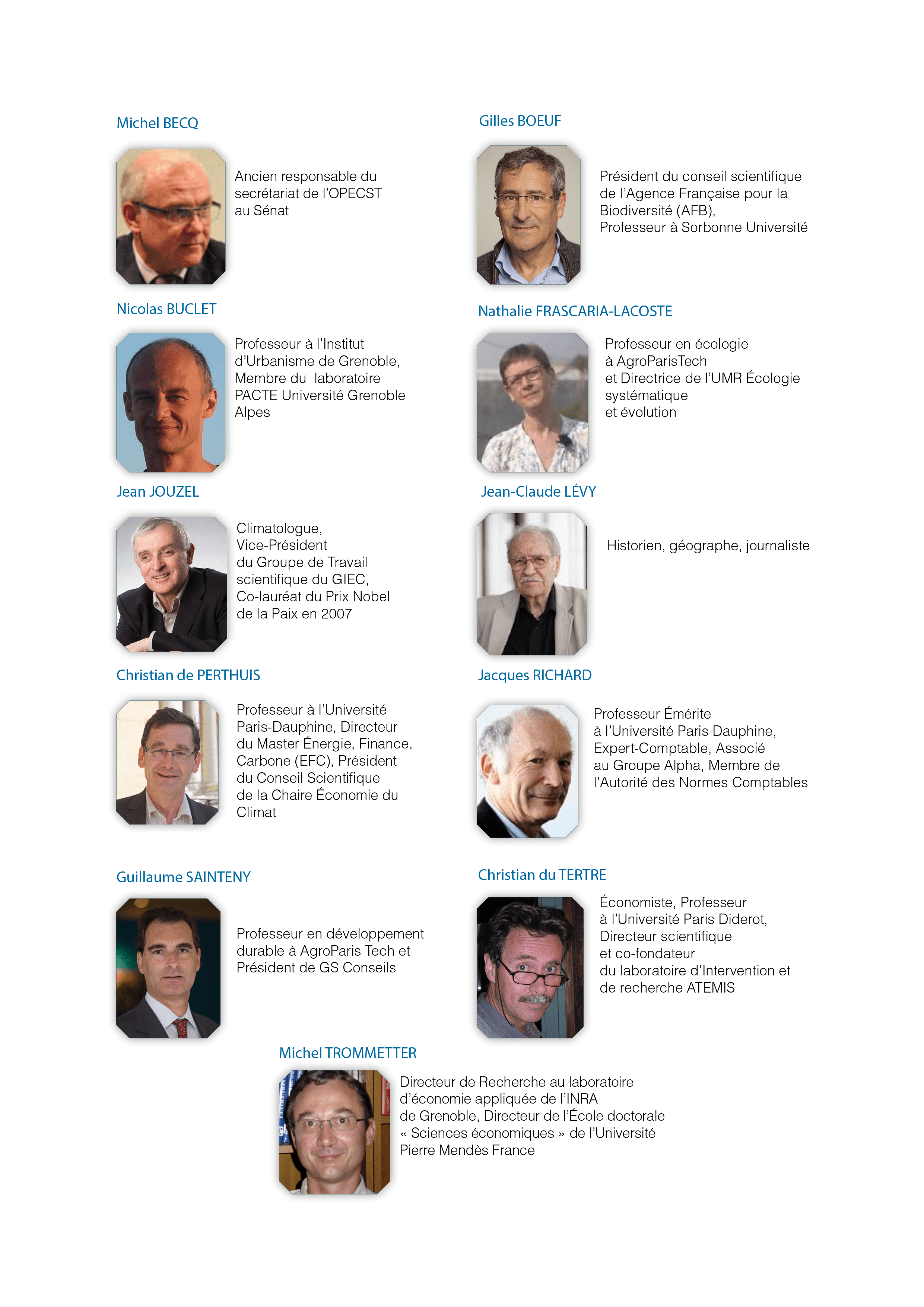 Personnalites qualifiees OREE