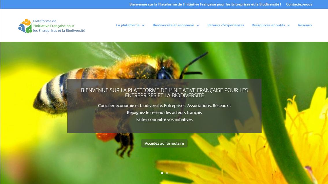 Plateforme entreprises biodiversité